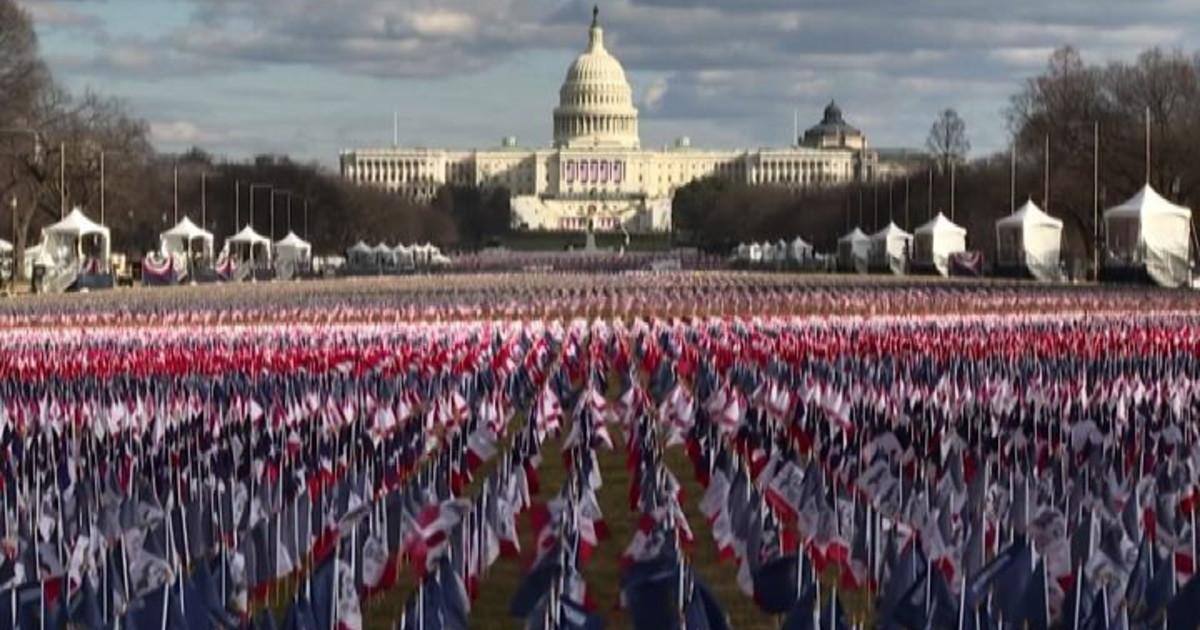 واشنگتن ، 200000 پرچم آمریکا برای روستای بایدن – ایل تمپو