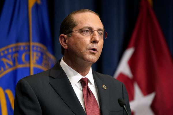 وزیر بهداشت آمریکا الکس هازارد استعفا داد