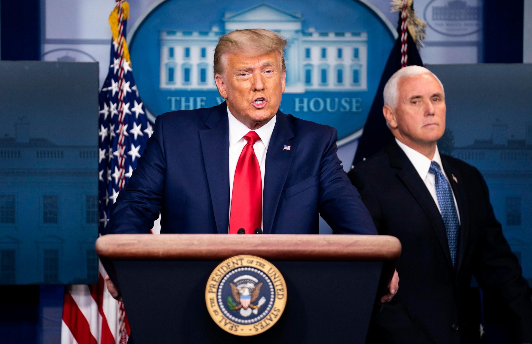 نظرسنجی ، 56 درصد آمریکایی های ترامپ باید حذف شوند