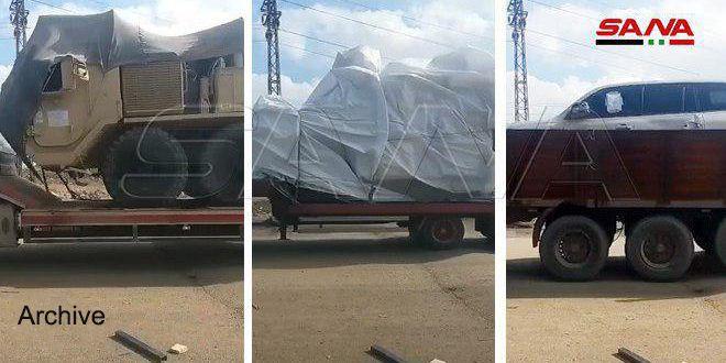 اشغال ایالات متحده 50 کامیون گندم دزدیده شده به سوریه را به عراق منتقل می کند – جنگ ها و امپریالیسم