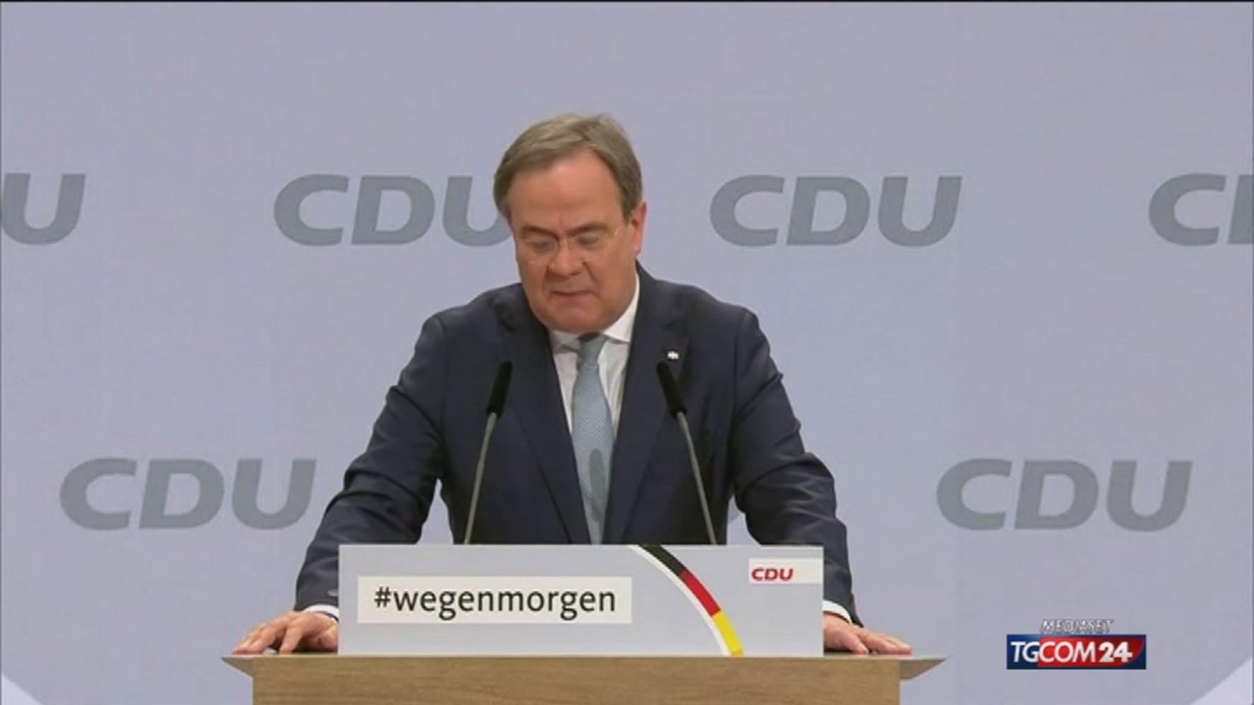 آلمان ، Laschet ، رئیس جمهور جدید HDZ
