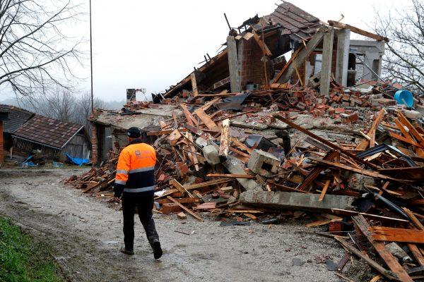 زمین لرزه شدید دیگری در کرواسی به بزرگی 5.3 ریشتر