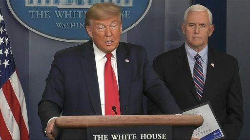 ترامپ سحرگاه با هلی کوپتر کاخ سفید را ترک خواهد کرد