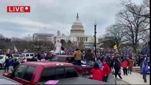 تظاهرات واشنگتن ، ترامپ: انسداد کنگره