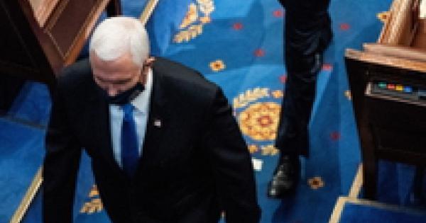 پنس از Capitol Hill تخلیه شد