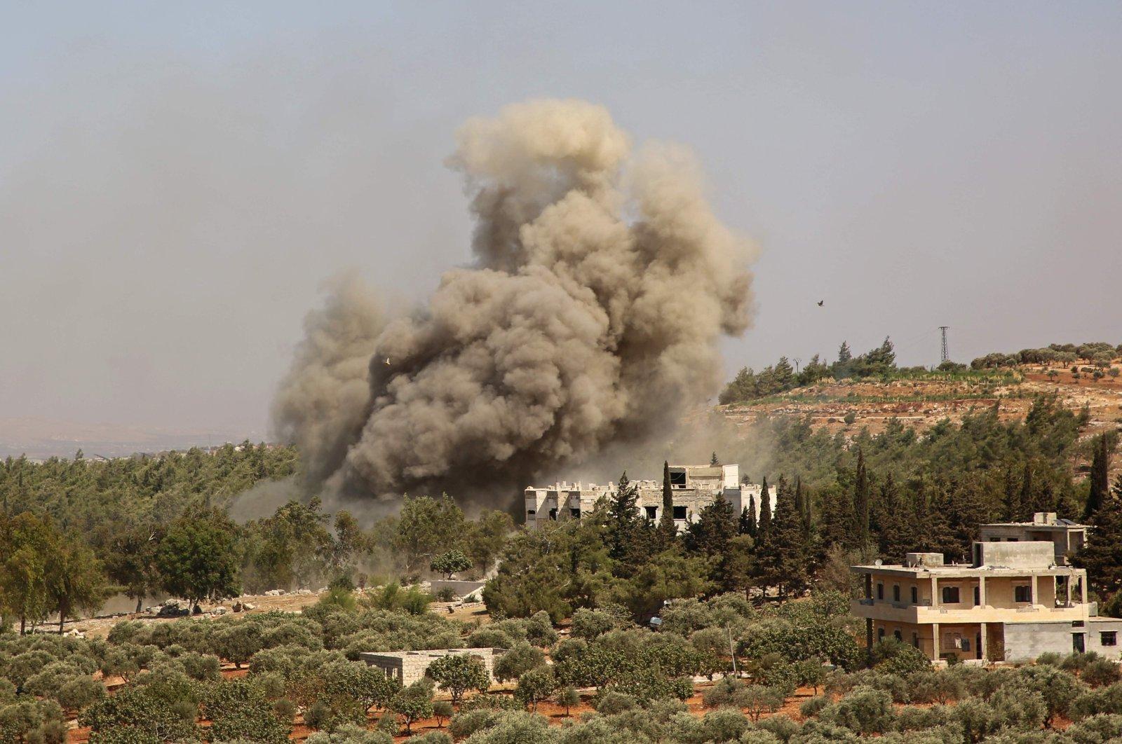 حملات شدید هوایی اسرائیل 57 جنگنده طرفدار ایران را در شرق سوریه کشته است »جنگ های جهانی