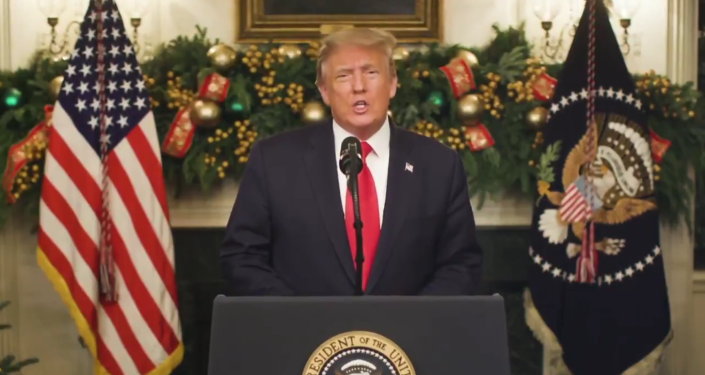 ترامپ قول می دهد که برای پیروزی در انتخابات به مبارزه ادامه دهد