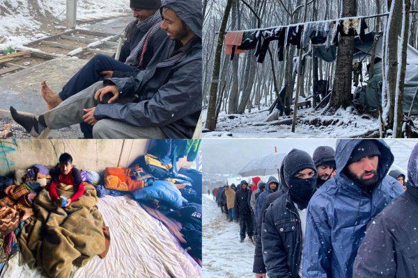 شرایط وحشتناک هزاران مهاجر ماندن در بوسنی به امید رسیدن به اتحادیه اروپا – چمدان آبی