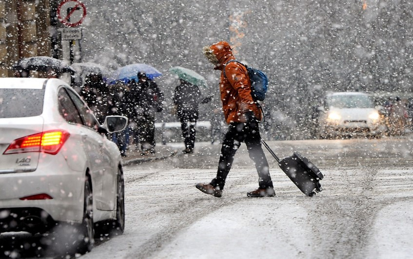 این یخبندان مناطق مختلف اروپا را از لهستان تا ترکیه درگیر کرده است  Kmetro0