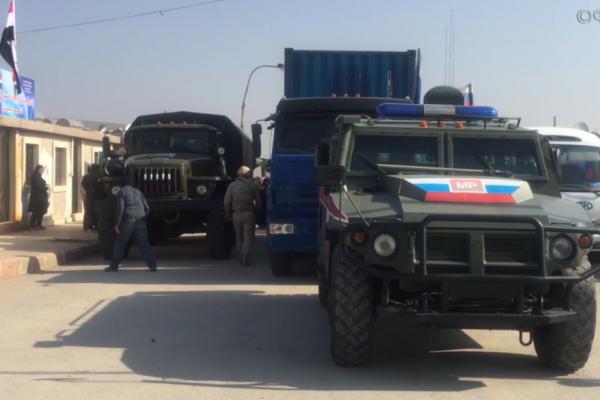 فوری: هواپیماهای هوافضای روسی نیروها را در منطقه درگیری شدید در مرز با ترکیه منتقل می کنند (ویدئو)