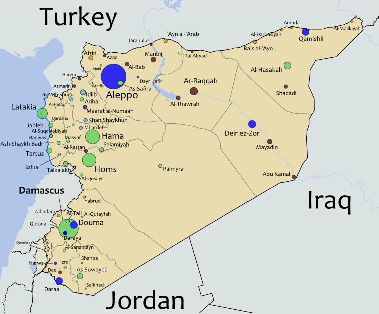 سوریه: آنچه در ساعات گذشته رخ داده است  امنیت بین المللی