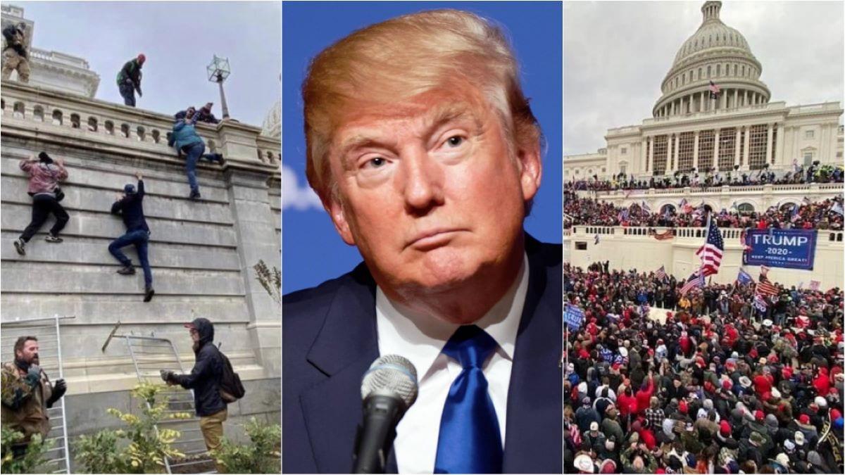 ترامپ از همه جدا شده ، آنها می خواهند او را بیرون بریزند