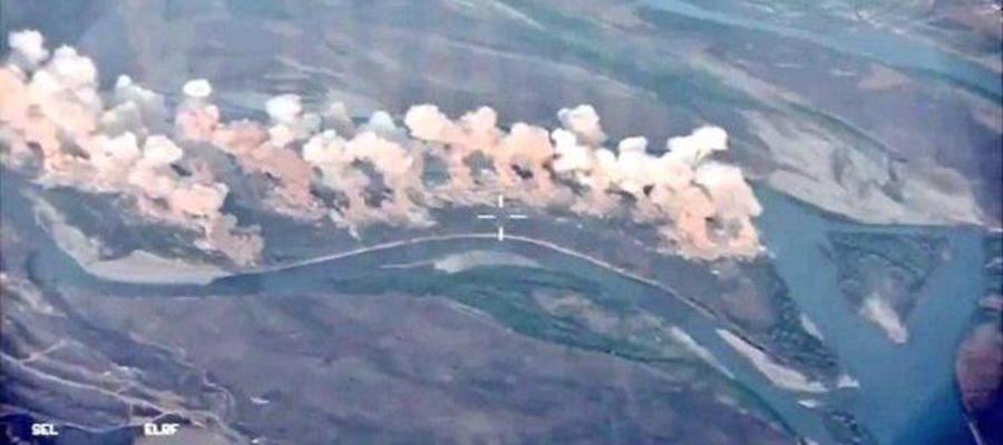 سوریه و روسیه با بیش از 100 حمله علیه با داعش در بادیا مداخله می کنند