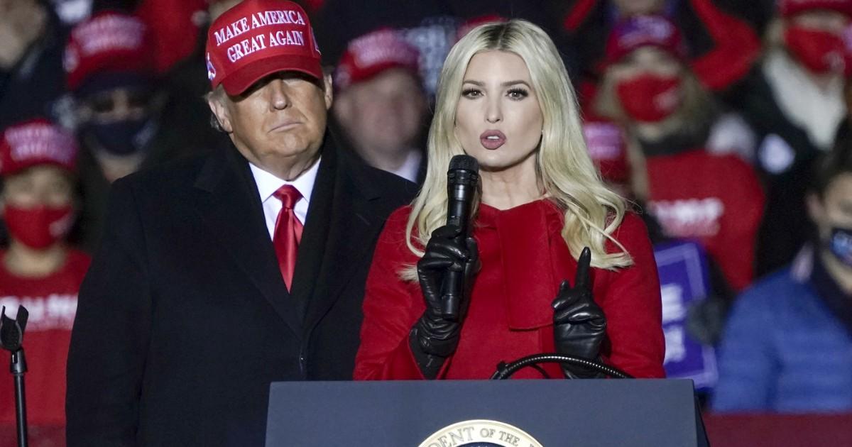 ترامپ از دخترش ایوانکا عصبانی است: او می خواهد در شهرک بایدن شرکت کند