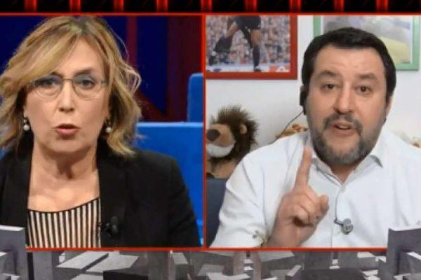 "SIMONA SALA VS MATTEO SALVINI / ویدیو ، ""سوار خشم مانند ترامپ در کپیتول هیل"""