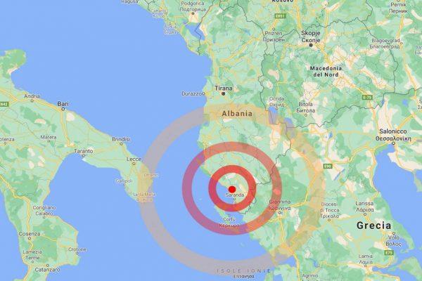زمین لرزه شدیدی بین آلبانی و یونان ، در Puglia احساس شد