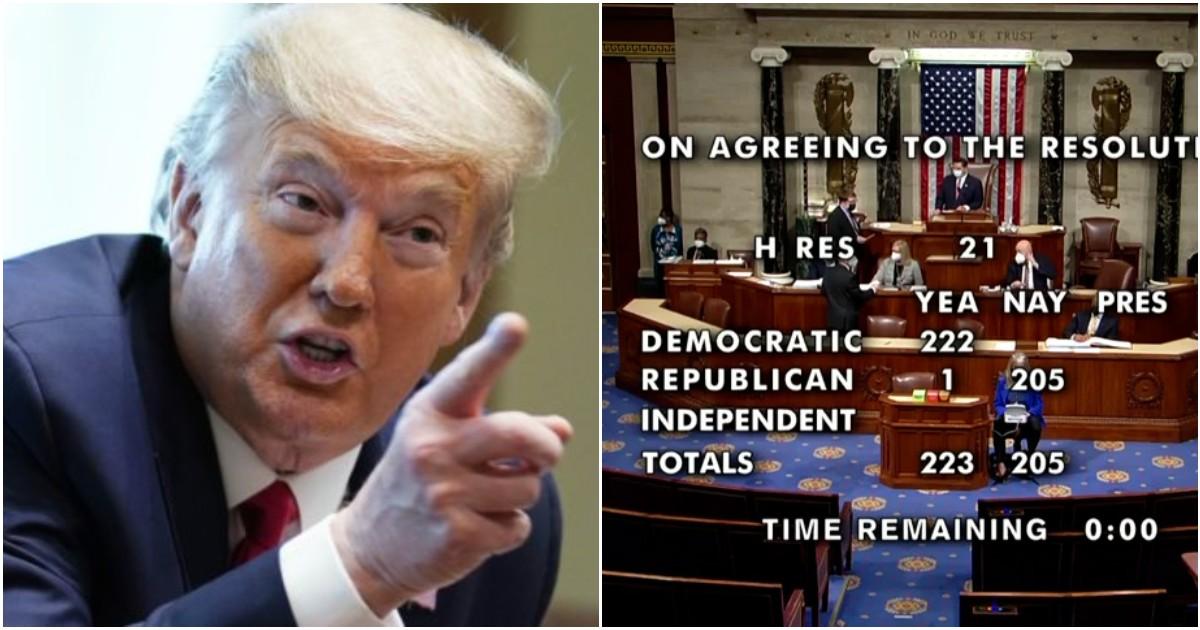 ایالات متحده ، اتاق قطعنامه درخواست 25 امین اصلاحیه علیه ترامپ را تصویب می کند – ویدئو