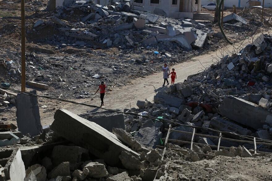 جنگ بین اسرائیل و فلسطین ، بمباران حماس و تل آویو