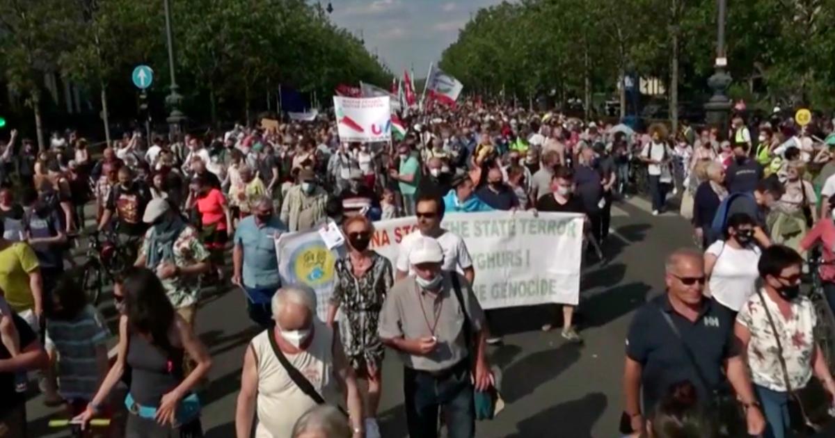 مجارستان ، هزاران نفر علیه Orban اعتراض می کنند: دولت می خواهد شعبه دانشگاه چین را باز کند – ویدئو