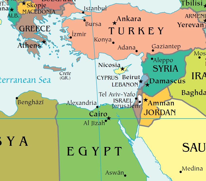 """مصر و ترکیه: """"مذاکرات اکتشافی"""" جدیدی در انتظار است  امنیت بین المللی"""